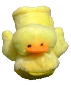 yellow duckie dog slippers